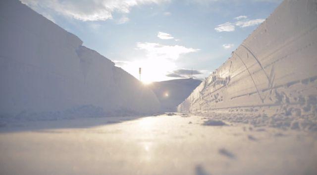 It's Been a Snowy Winter in Norway