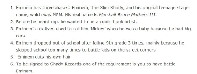 "The Real Truths about the ""Real Slim Shady"""