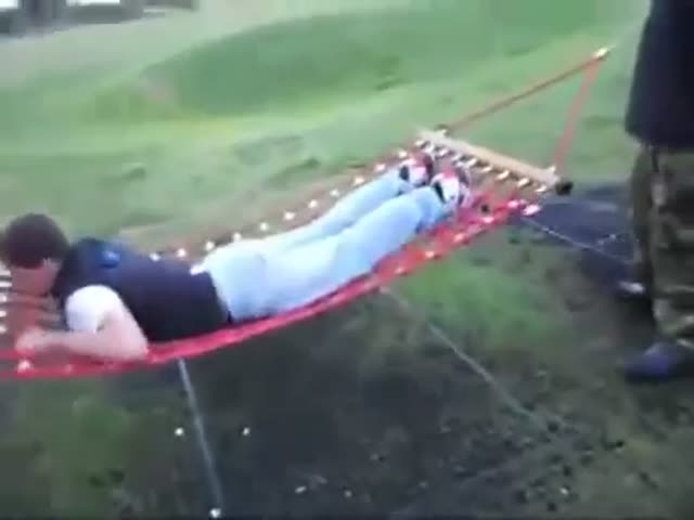 Extreme Hammock Spinning  (VIDEO)