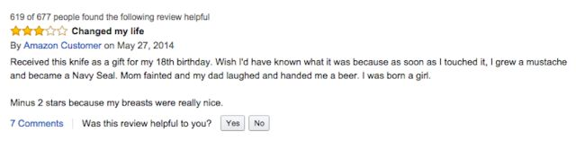 Amazon's Hilarious Reviews of the Gigantic 16999 Swiss Army Knife