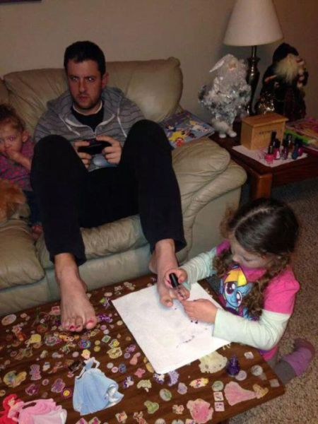 Dads Who Have Parenting Totally Figured Out