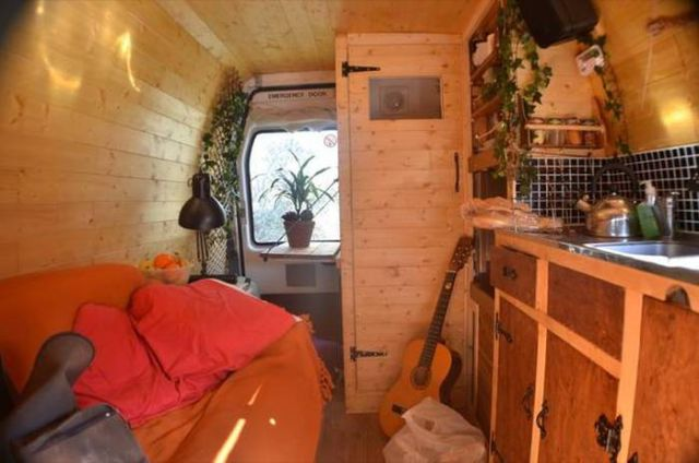 The Nomadic Life of a Man who Lives in a Camper Van