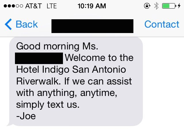An Hilarious Response to a Silly Request from a Hotel Guest