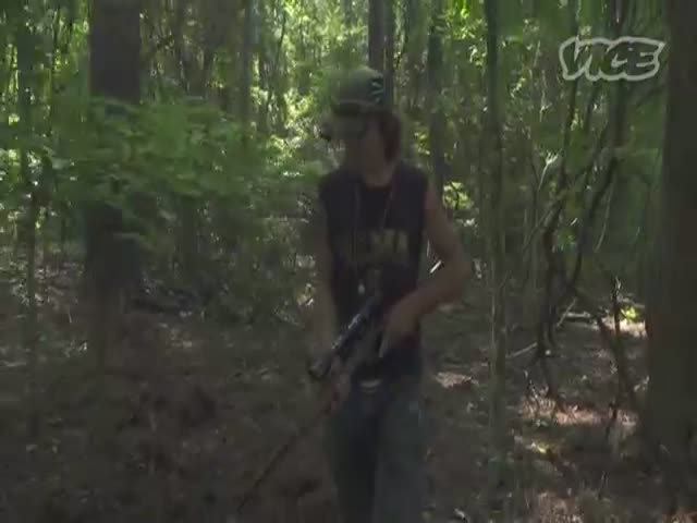 Alabama Teen Spends Two Years in the Woods All Alone