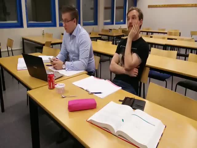 Every Time You Look Away for a Second during Math Class...  (VIDEO)