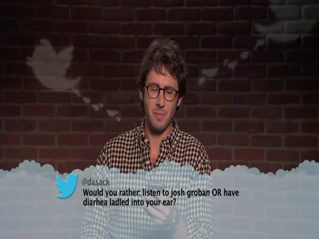 Famous Musicians Read Mean Tweet about Themselves - Part 2