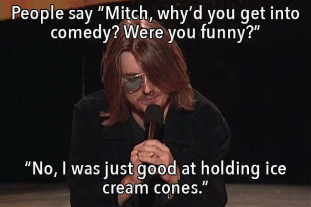 Amusing Words from Mitch Hedberg