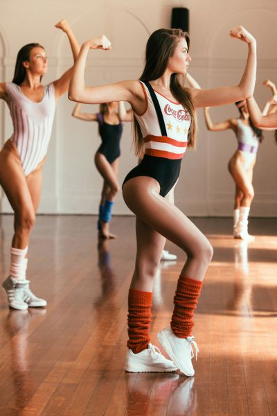 A Rocking 80s Style Aerobics Photoshoot