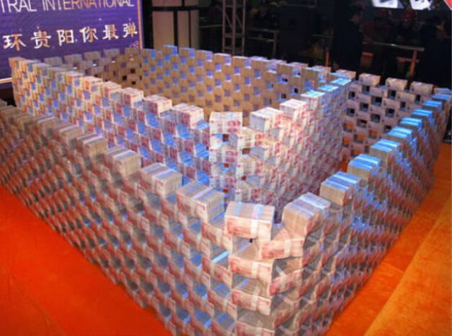 A Mountain of Cash for Migrant Workers in China