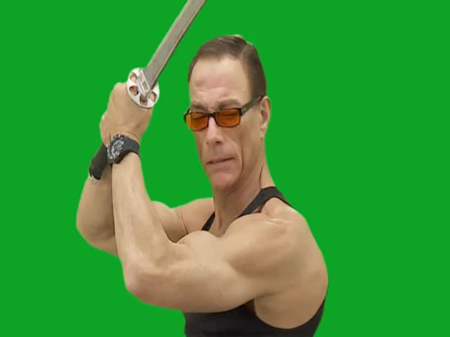Hilarious Footage of 'Jean Claude Van Damme' You Can Use However You Like  (VIDEO)