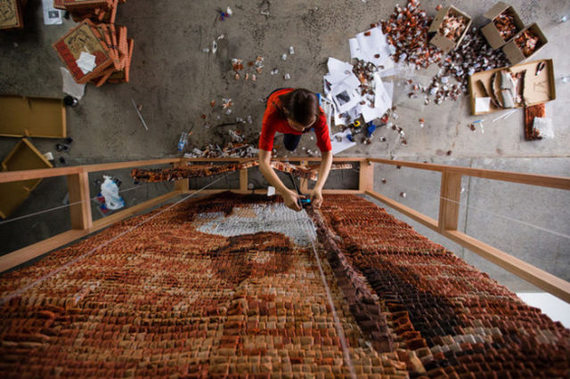 An Interesting Use of 20,000 Teabags