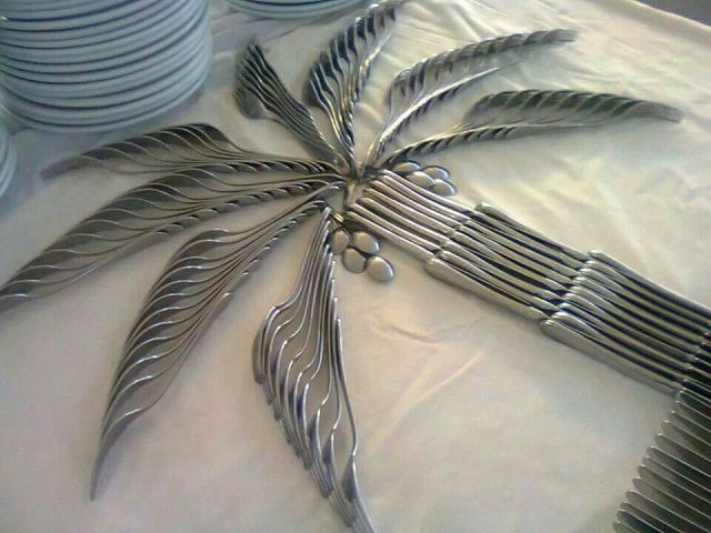 cutlery decorations