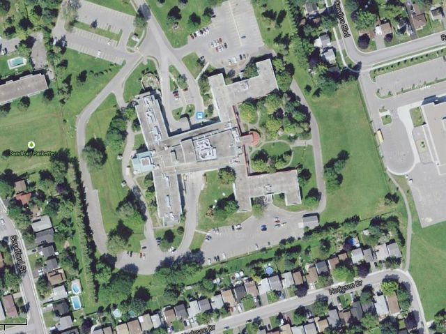 The Oddly Shaped Health Centre in Canada