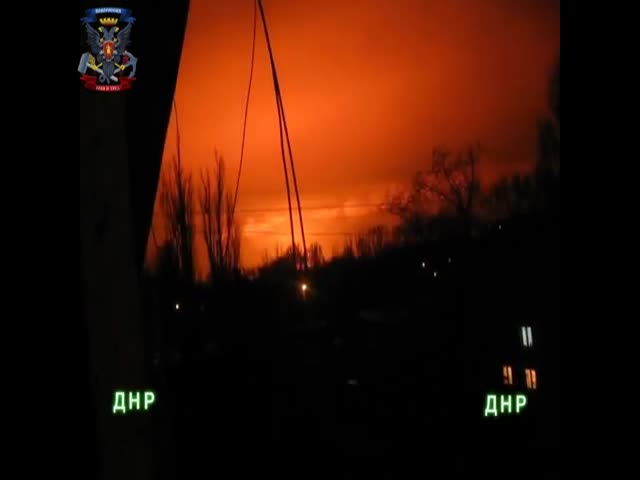 Huge Explosion at a Chemical Plant in Ukraine