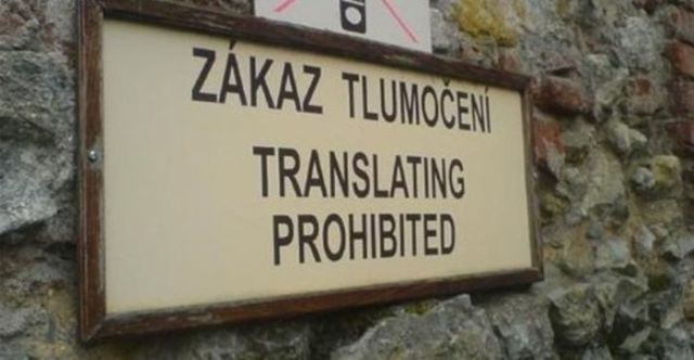 Hilarious Translations from People Who Clearly Didn't Try That Hard