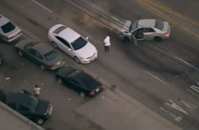 Insane Real Life GTA Police Chase in Los Angeles