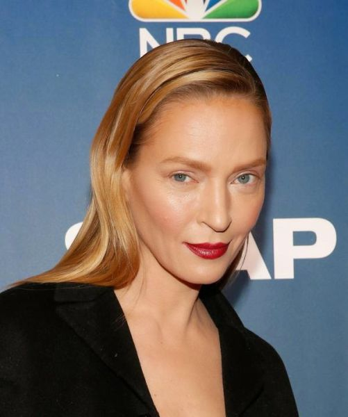 Uma Thurman Looks Like a Completely Different Person