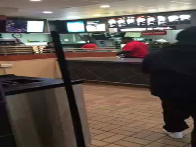 McDonald's Employee Has an Epic Meltdown after Being Fired