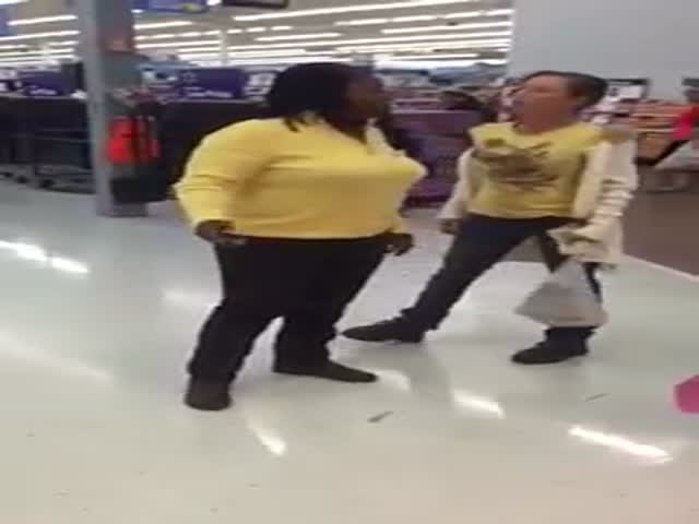 Meanwhile, in Walmart: Texas Girl Heabutts Woman Twice Her Size
