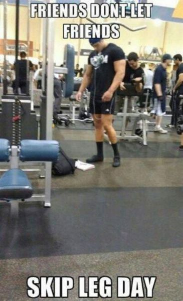 People Who Don't Understand Gym at All