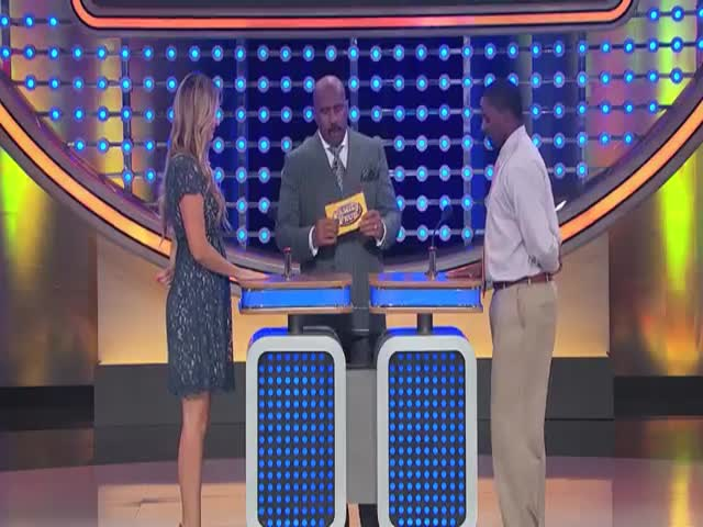 Contestant's Hilarious Answer on Family Feud  (VIDEO)
