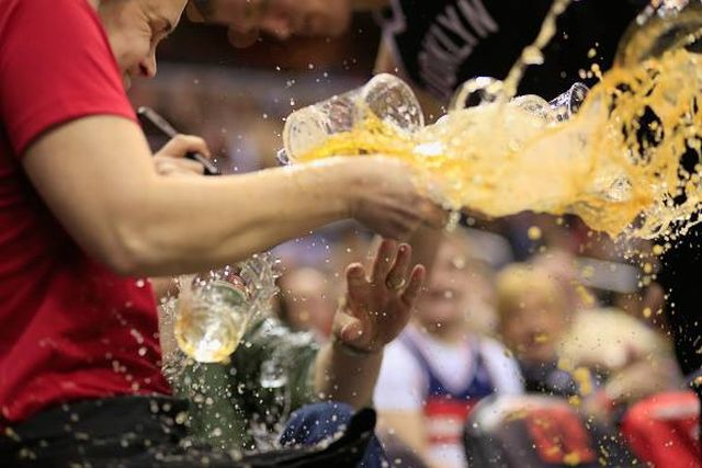 A Drinks Crisis on the Basketball Court
