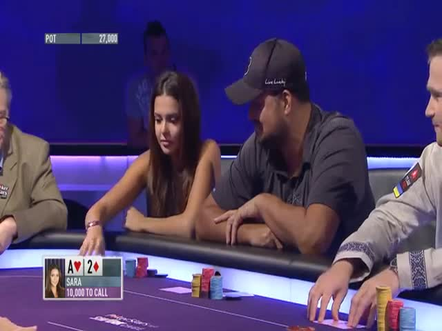 Can Miss Finland Bluff a Pro Poker Player?