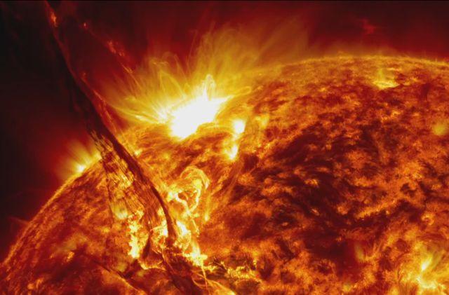 5 Years of Solar Explosions and Eruptions Compiled by NASA