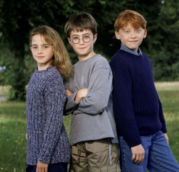 Original Press Photos of the Harry Potter Cast
