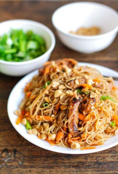Ground Pork Noodle Bowl