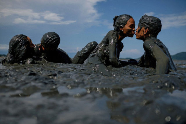 Things Get Messy at Brazil's Annual Mud Carnival