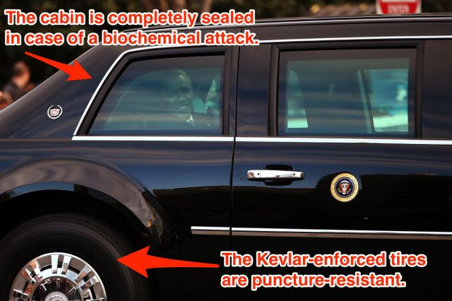 "The US President's Car Is Literally ""The Beast"" on Wheels"