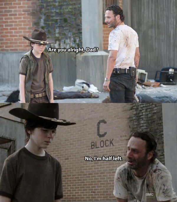 """The Walking Dead"" Dad Tells the Best Dad Jokes Ever"