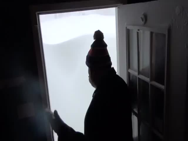 It's Snowmageddon in Canada