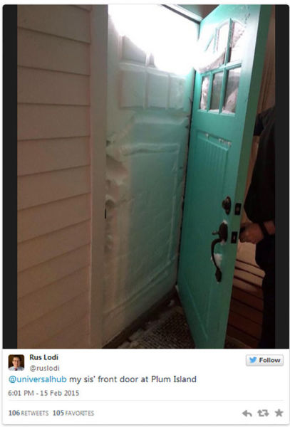 New England's Snowfall Is Beyond Crazy