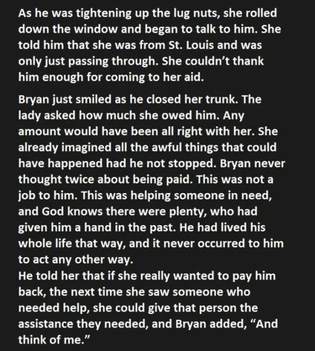 The Power of a Kind Gesture