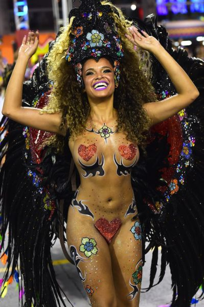 These Hotties from Sao Paulo Carnival Will Make You Sweat