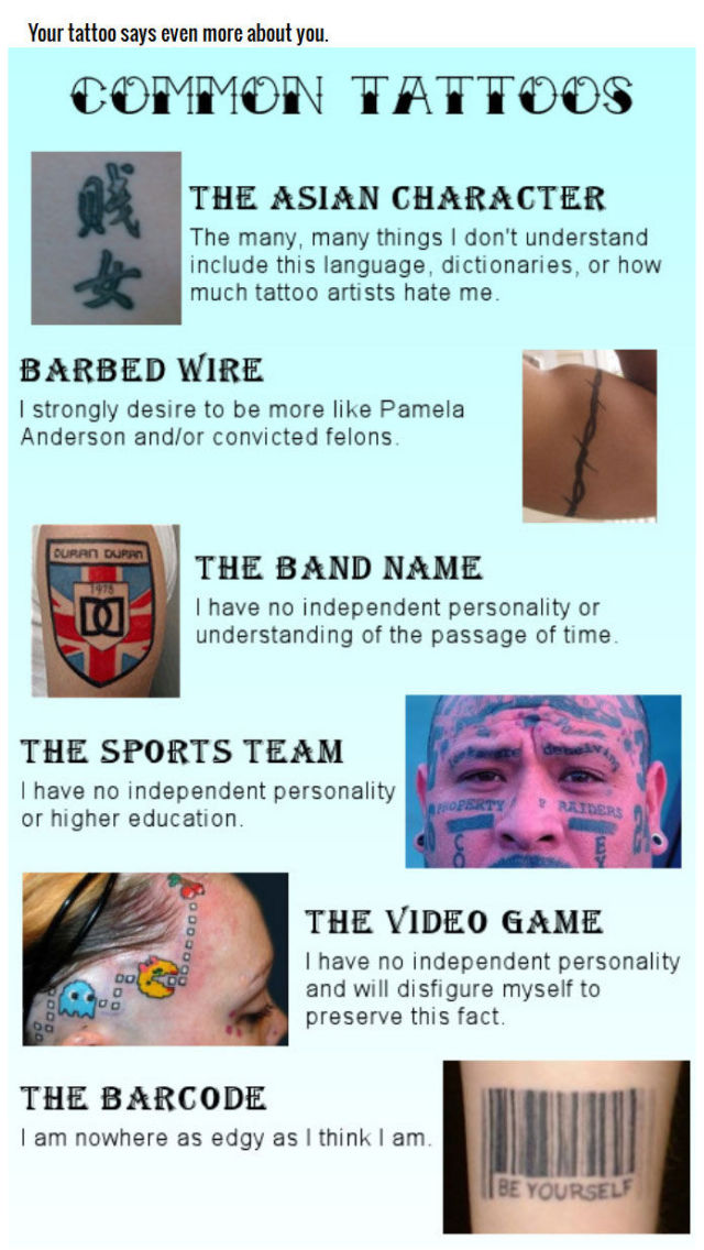 True Tattoo Facts That You Need to Consider before You Ink