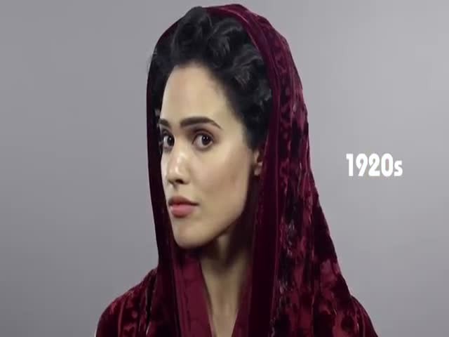 100 Years of Iranian Beauty in One Minute