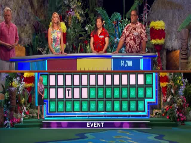 'Wheel of Fortune' Contestant Solves Puzzle with Only One Letter Showing  (VIDEO)