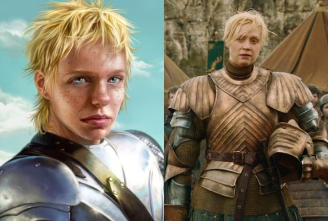 "A Comparison of the ""Game of Thrones"" Characters in Books and TV"