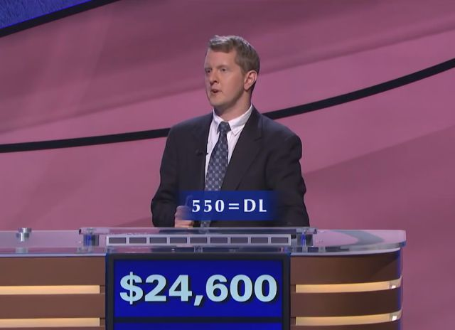 Ken Jennings Wins an Extremely Complicated Category like It