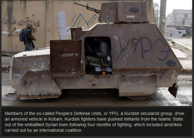 The City of Kobani Rejoices As ISIS Is Exiled