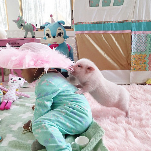 The Real Life Story of the Princess and the Pig