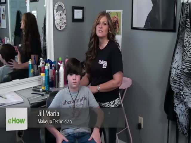 Kid Gets the Worst Hair Style Ever in a How-to Video  (VIDEO)