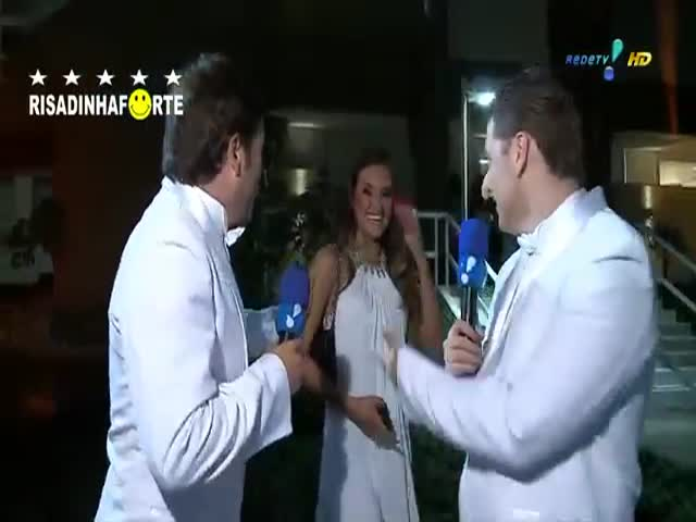 Meanwhile, on Brazilian TV