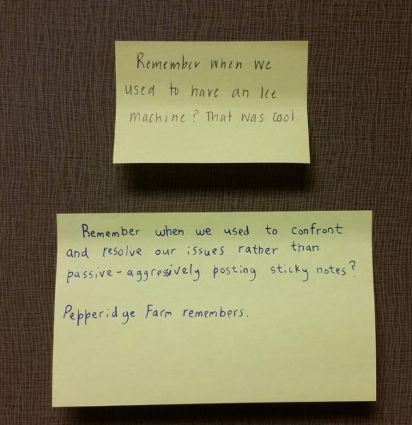 Witty Office Notes That Make Work a Little More Fun