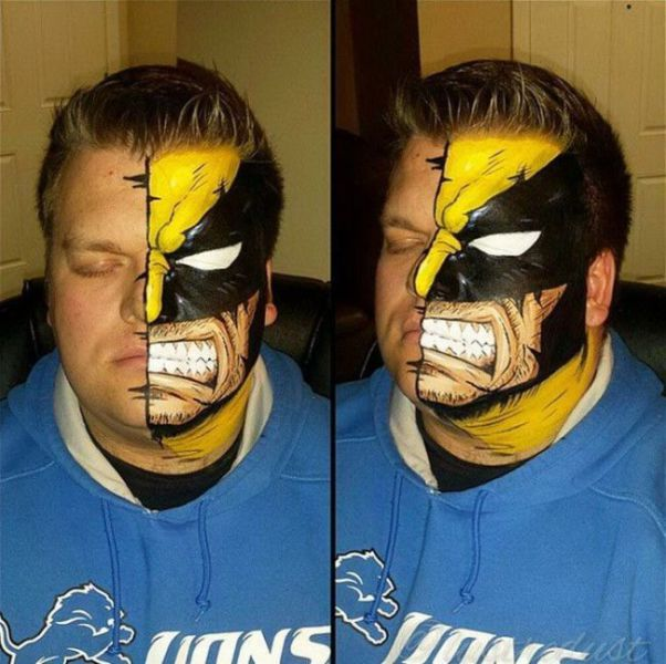 Comic Book Characters Brought to Life in Cool Makeup Makeovers