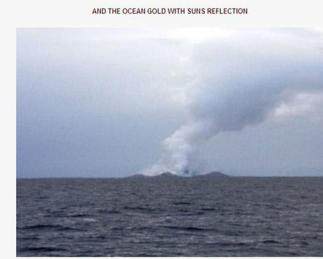 Man Gets to Witness a Once in a Lifetime Sight in the Middle of the Ocean