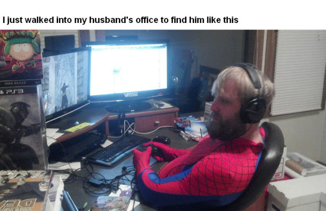 You Just Can't Beat Husband Logic